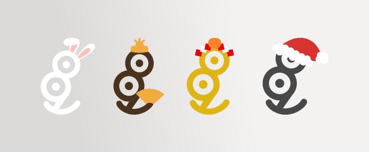 デザインハックのロゴにキャラクター性をもたせる
