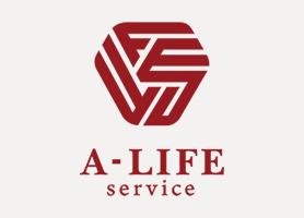 株式会社A-LIFEserviceロゴマーク