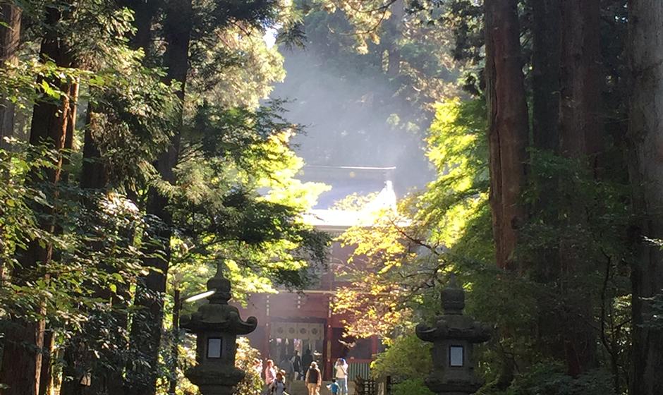 御岩神社正面