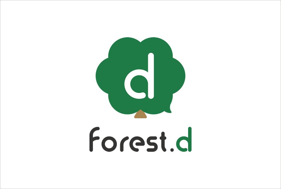 株式会社forest.dロゴマーク